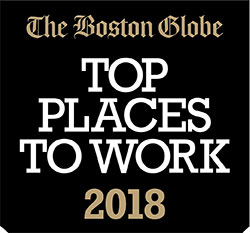 Boston Globe Top Places to Work Logo