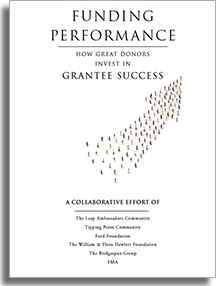 Funding Performance monograph cover