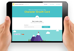 The Character Growth Card offers teachers an opportunity to provide feedback to students about their character strengths via a web-based application.