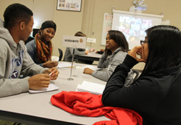 Metro Nashville high school students participate in a social and emotional development program.