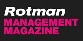 Rotman Management Magazine log