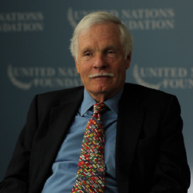 Ted Turner's Philanthropy Broadcasts a Love for Humanity Across the Globe