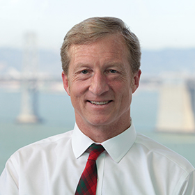 Tom Steyer Champions Good Food, Good Banking, and Good Energy