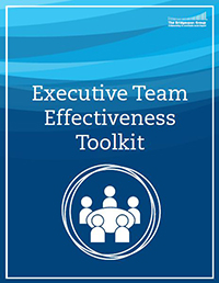 executive team effectiveness toolkit