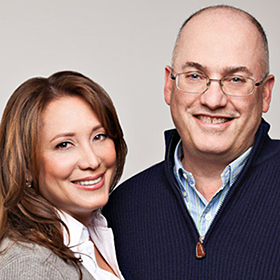 Alexandra and Steven Cohen